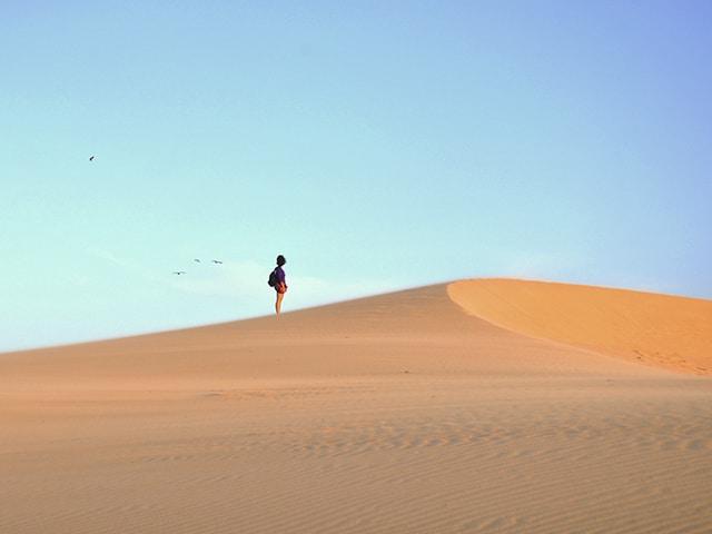 Valizas possui 40 Km² de dunas, uma paisagem impressionante (Foto: Zizo Asnis)
