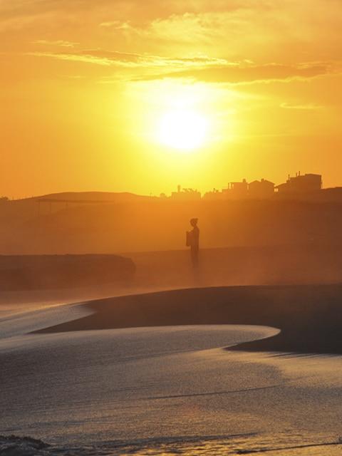Punta del Diablo, um dos destinos mais populares do litoral uruguaio (Foto: Zizo Asnis)