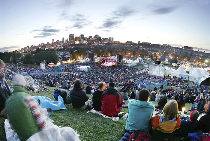 Edmonton Folk Festival   Foto por  Edmonton Economic Development Corporation