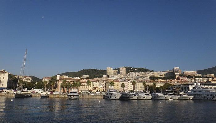 Ajaccio, capital da Córsega