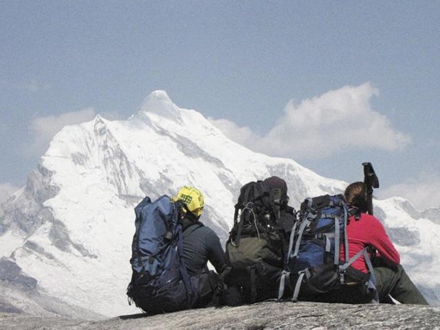Chopicalqui, a 6354m de altitude