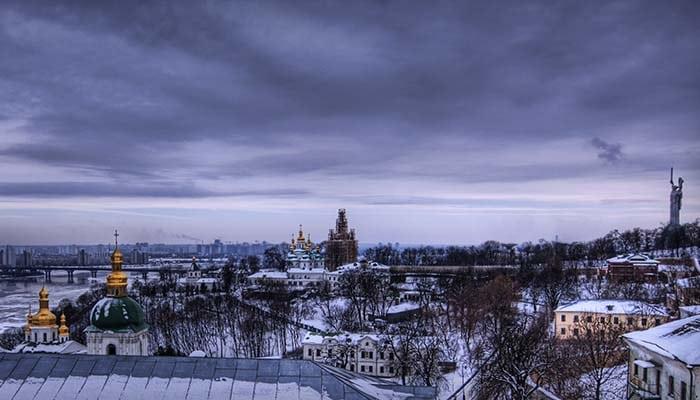 Inverno em Kiev | Foto por Trey Ratcliff