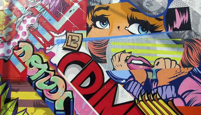 Bowery Graffiti Wall   Foto por Wally Gobetz
