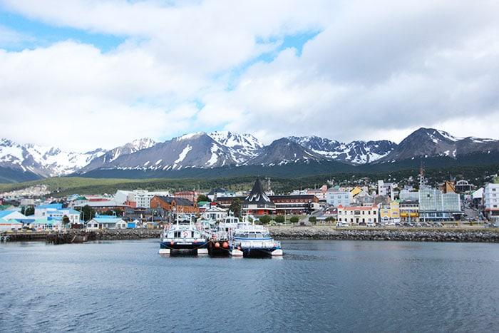 Ushuaia vista do barco | Foto por Bruna Cazzaloto
