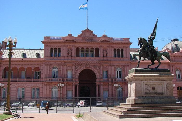 Casa Rosada, sede do governo argentino | Foto arquivo O Viajante