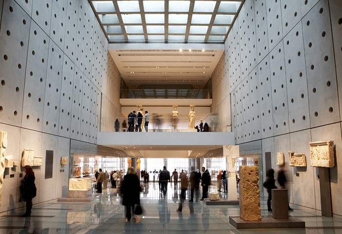O novo museu da Acrópole   Foto por Visit Greece