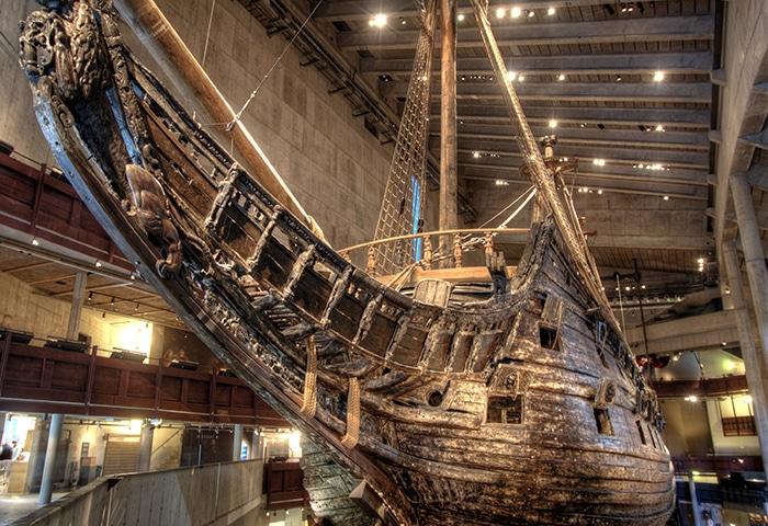 Detalhe do Museu do Vasa   Foto por Clark & Kim Kays