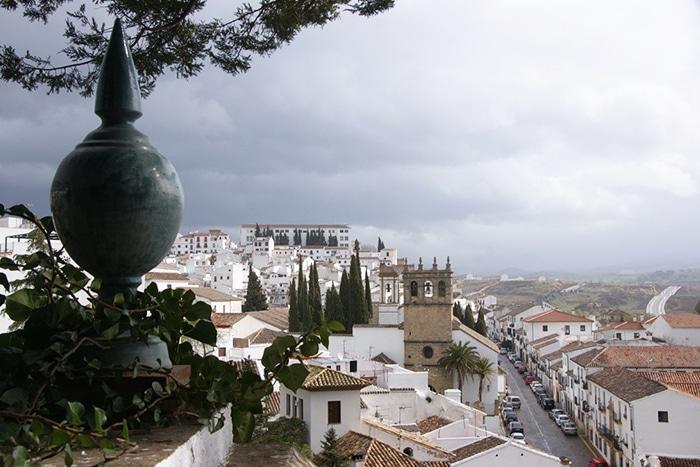 Vista do lado sul de Ronda   Foto por Vinicius Henrique Fontana