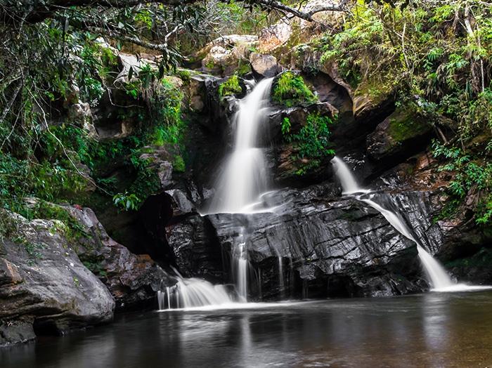 Cachoeira da Eubiose, a 2,5km da cidade   Foto por Diego Matielo