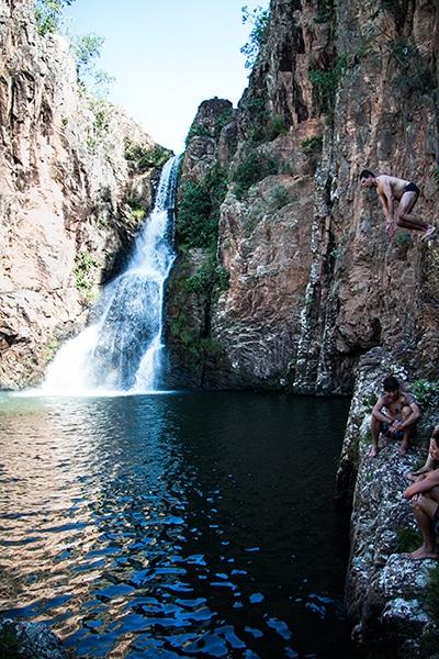 Cachoeira na Chapada dos Veadeiros (GO)