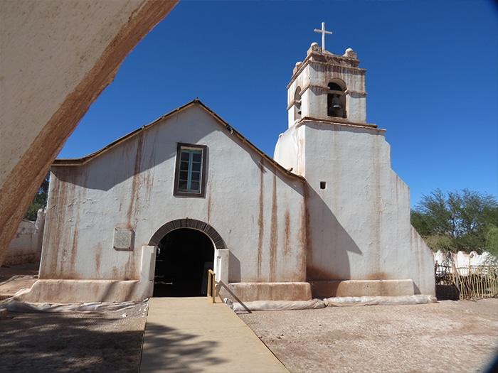 Iglesia de San Pedro de Atacama | Foto por Paula di Luciano