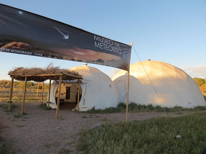 Museo del Meteorito visto de fora | Foto por Paula di Luciano
