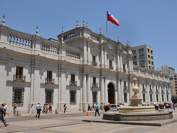 Palacio de la Moneda | Arquivo O Viajante