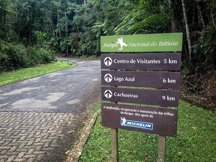 Entrada parte baixa do Parque Itatiaia   Foto por Daniel Carnielli