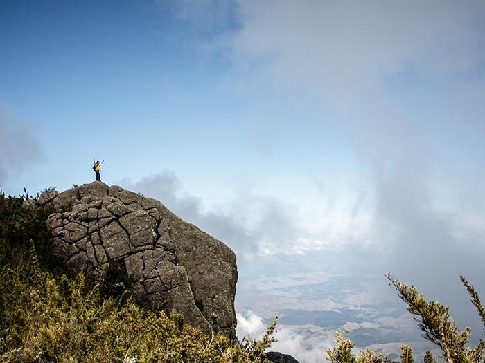 Mirante no caminho da pedra do couto   Foto Daniel Carnielli/arquivo pessoal