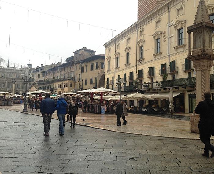 Piazza Delle Erbe | Foto por Carolina Caio