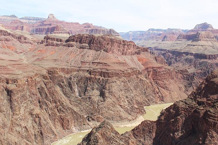 Rio Colorado visto do Plateau Point | Foto por Bruna Cazzolato Ribeiro