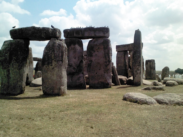 Ruínas de Stonehenge   Foto por Cristine Severo
