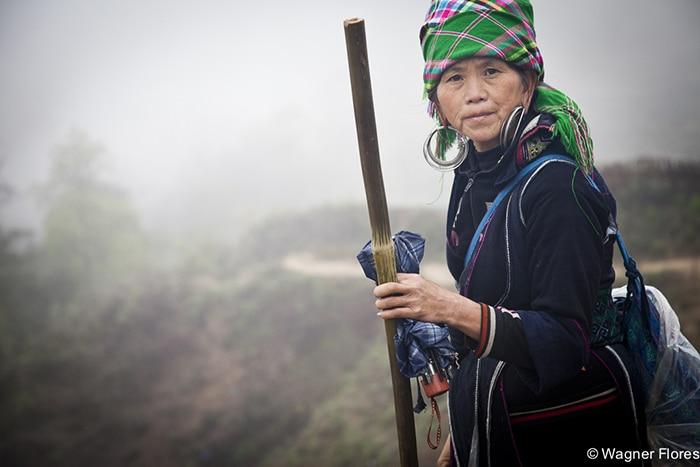 Mulheres da etnia   Foto por Wagner Flores