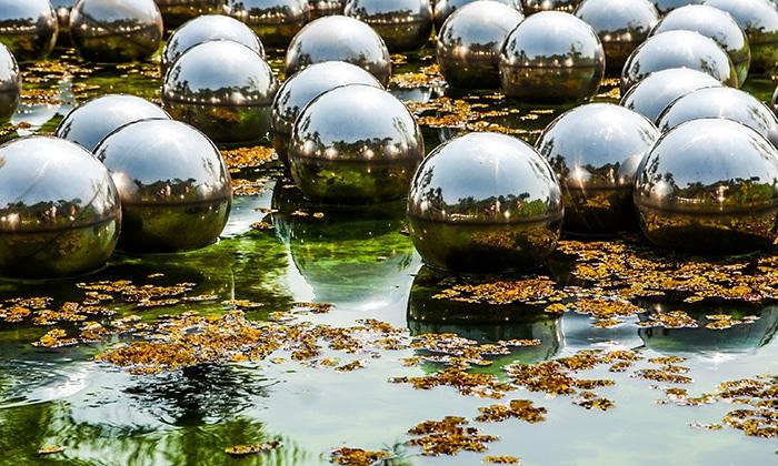 Narcissus Garden, Yayoi Kusama | Foto por Daniel Carnielli
