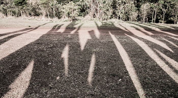 As sombras de Beam drop | Foto por Daniel Carnielli