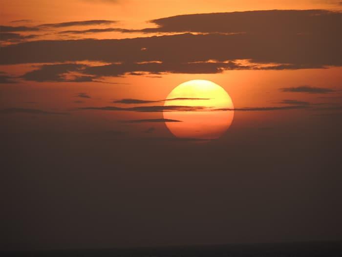 O incrível pôr do sol de Jericoacoara | Foto por Sabrina Levensteinas