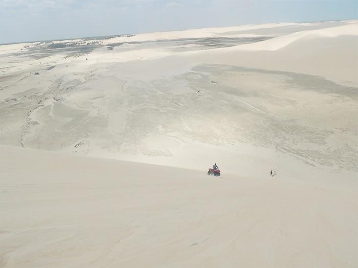 Passeio de bugue pelas dunas | Foto por Sabrina Levensteinas