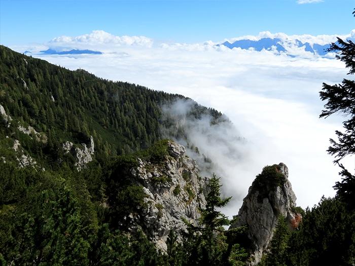 A cima das nuvens | Foto por Felipe Bauermann
