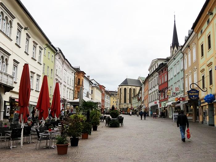 A pequena cidade de Villach, na Áustria | Foto por Felipe Bauermann