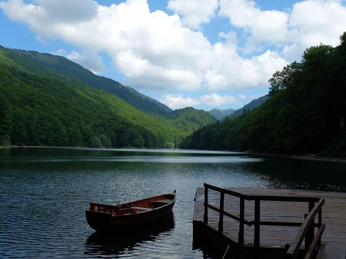 Entrada do Biodgraska Gora National Park | Foto por Fabian Julius