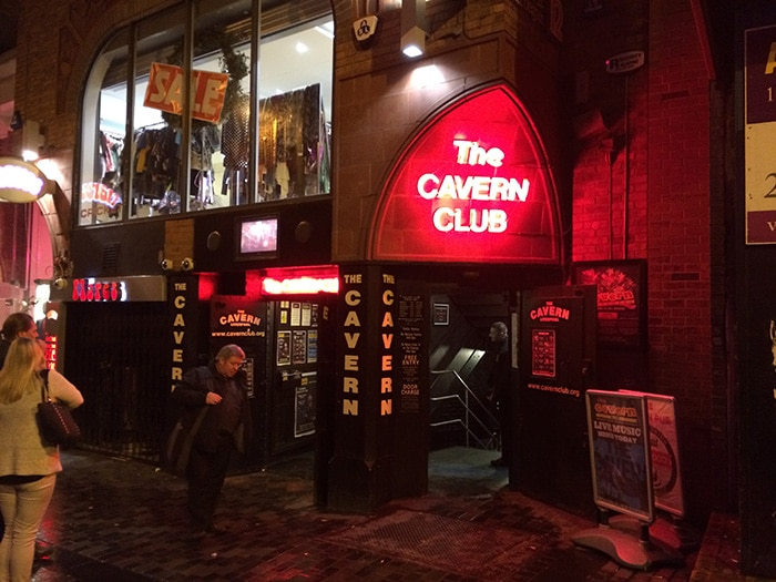 The Cavern Club, local de diversos shows dos Beatles | Foto por José Jayme