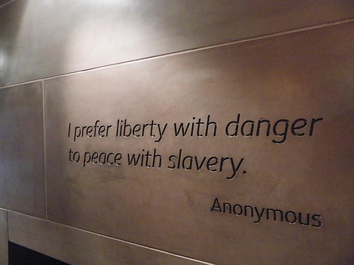 Detalhe no International Slavery Museum | Foto por José Jayme