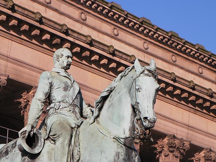 Ponto de encontro para o walking tour por Liverpool | Foto por José Jayme