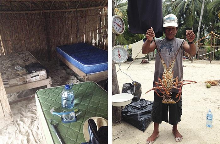 Você levanta já com o pézinho na areia e tem almoço pescado e preparado pelos Kunas | Fotos por Felipe Parma