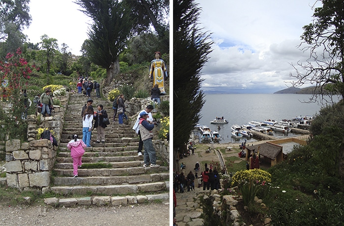 As famosas escadarias Incas | Foto por Renata Ferri