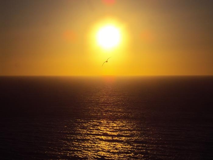 Pôr do sol nas Islas Cíes | Foto por Bruno Cunha