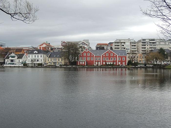 A cidade de Stavanger, no sudoeste da Noruega   Foto por Sabrina Levensteinas
