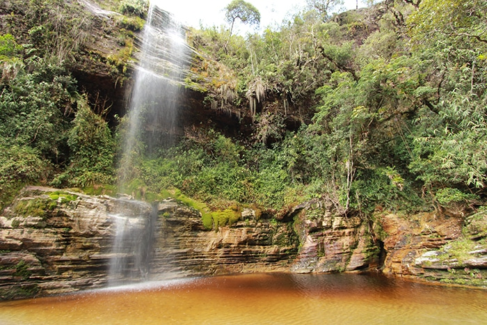 Cachoeira na metade do caminho | Bruna Cazzolato Ribeiro