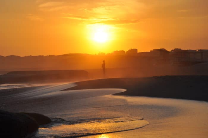 Por do sol em Punta del Diablo | foto Zizo Asnis