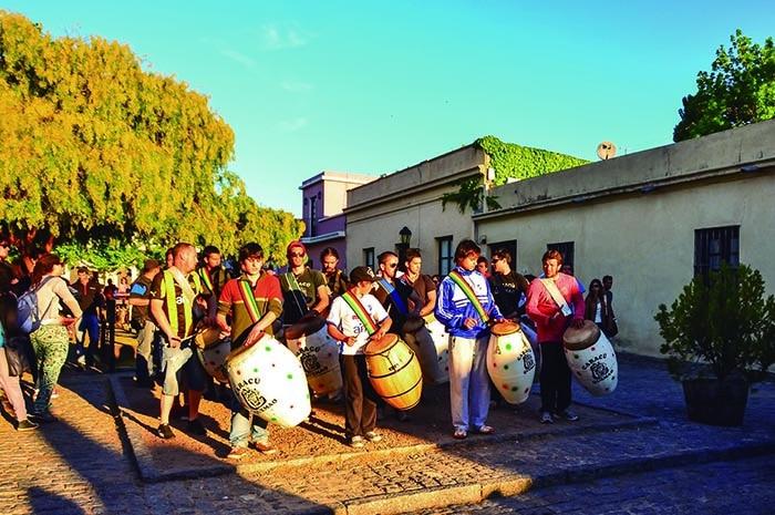 Candombe em Colônia do Sacramento | foto Hélio Dias