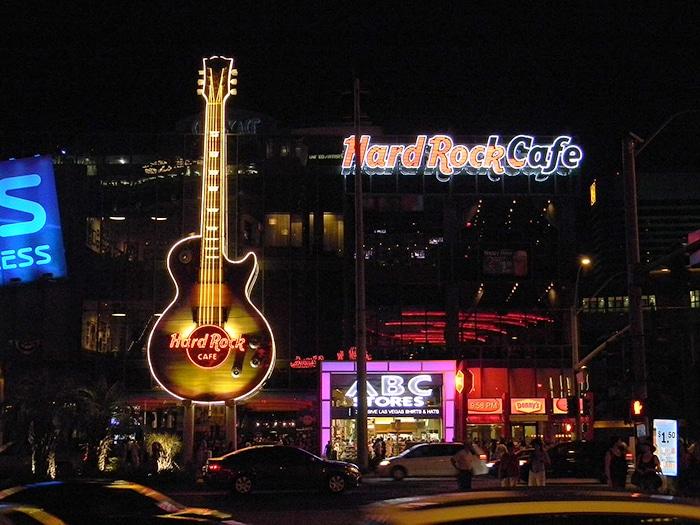 Hard Rock Las Vegas | Foto por Laslovarga (CC BY-SA 3.0)