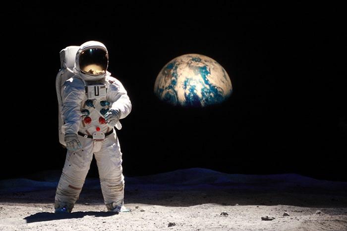 Hoje é um bom dia para irmos para o espaço?   Foto por Daniel Carnielli
