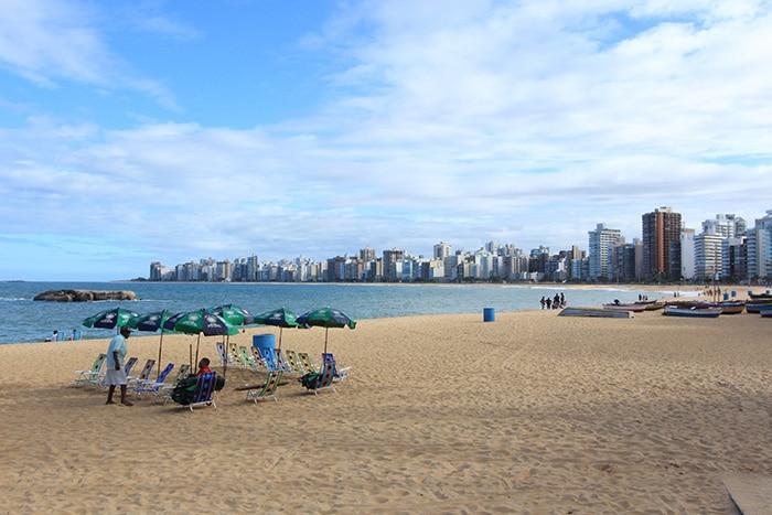 Praia da Costa, Vila Velha | Foto por Bruna Cazzolato Ribeiro