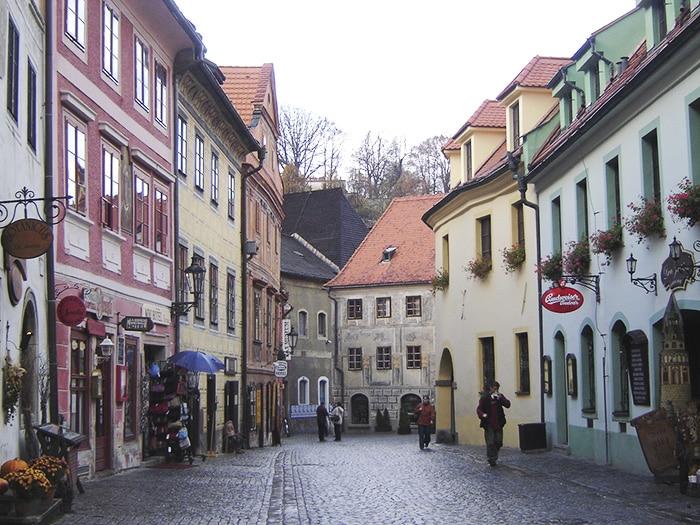Centro histórico de Český Krumlov   Foto por Zizo Asnis
