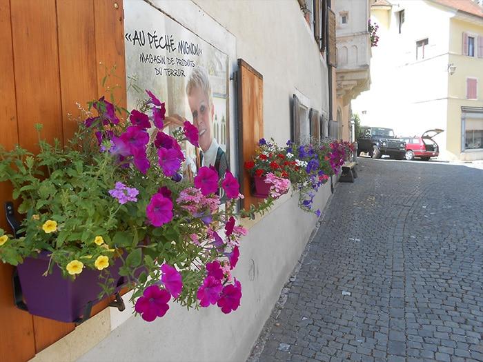 Flores por todas as ruelinhas   Foto Grazi Calazans