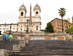 Escadaria da Piazza di Spagna