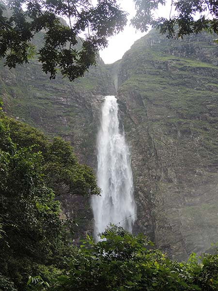 Casca D'Anta, cachoeira na Serra de Canastra, MG