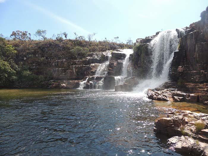 Cataratas dos Couros, cachoeira da Chapada dos Veadeiros