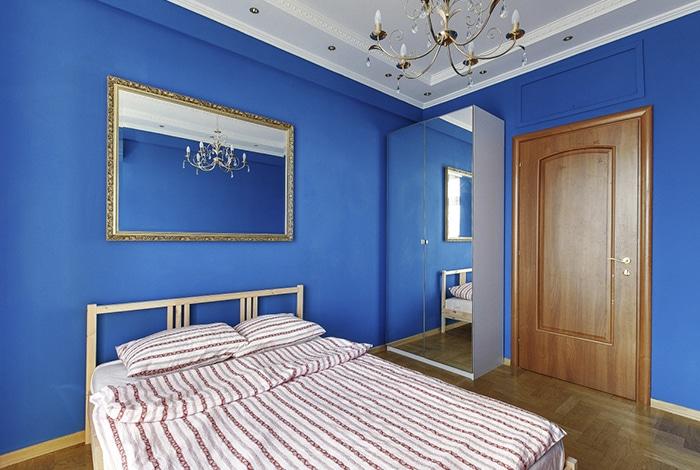 Quarto privado no Vagabond Hostel, em Moscou