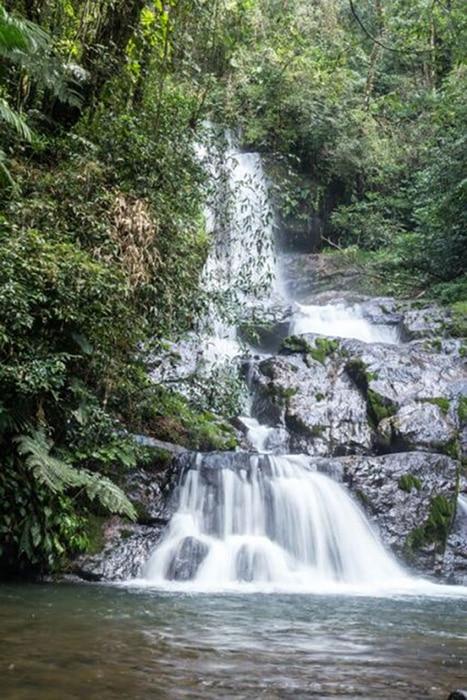 Cachoeira do Ouro Fino no Parque do Zizo | Foto por